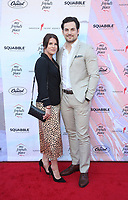 6 April 2019 - Los Angeles, California - Nichole Gustafson, Giacomo Gianniotti. the Ending Youth Homelessness: A Benefit For My Friend's Place  held at Hollywood Palladium.  <br /> CAP/ADM/FS<br /> &copy;FS/ADM/Capital Pictures