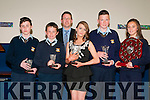 Listowel Community College Awards. Pictured at the Listowel Community College Awards presentation event at the college on Friday afternoon last were  Michael Hickey, Cillian Fealey, Mr. Cathal Fitzgerald , Principal, Julianne McCartghy,  Ciaran O'Connor & Amy O'Connor.