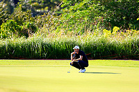 Sebastian Heisele (GER) during the first round of the Afrasia Bank Mauritius Open played at Heritage Golf Club, Domaine Bel Ombre, Mauritius. 30/11/2017.<br /> Picture: Golffile | Phil Inglis<br /> <br /> <br /> All photo usage must carry mandatory copyright credit (&copy; Golffile | Phil Inglis)