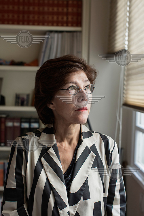 Rosa Maria Cardoso da Cunha, a lawyer and member of the Truth Commission. She was Dilma Rousseff's lawyer during the dictatorship.
