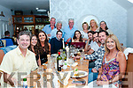 "Heggartys, Sugrues and Quigleys welcomed members of the Chiappetta family from Canada to Ireland and enjoyed a meal at Bella Bia on Saturday- ""A return of hospitality"" from when they visited Canada last year."