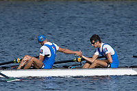 Sarasota. Florida USA.ITA LM4-. Bow. <br /> Federico DUCHICH, Leone BARBARO, Lorenzo TEDESCO and Piero SFILIGOI, Sunday Final's Day at the  2017 World Rowing Championships, Nathan Benderson Park<br /> <br /> Sunday  01.10.17   <br /> <br /> [Mandatory Credit. Peter SPURRIER/Intersport Images].<br /> <br /> <br /> NIKON CORPORATION -  NIKON D500  lens  VR 500mm f/4G IF-ED mm. 200 ISO 1/1000/sec. f 7.1
