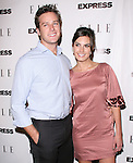 "Armie Hammer and wife Elizabeth attends the ELLE and Express ""25 at 25"" Event held at The Palihouse Holloway in West Hollywood, California on October 07,2010                                                                               © 2010 Hollywood Press Agency"