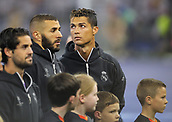 June 3rd 2017, National Stadium of Wales , Wales; UEFA Champions League Final, Juventus FC versus Real Madrid; Cristiano Ronaldo of Real Madrid before kick off