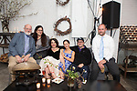 Brooklyn, NY - April 14, 2018: Marni Deutsch's 40th Birthday Party at Atelier Roquette in Red Hook.<br /> <br /> CREDIT: Clay Williams for Edible Brooklyn.<br /> <br /> &copy; Clay Williams / http://claywilliamsphoto.com
