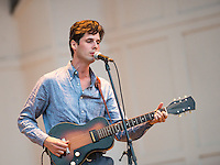 The Cactus Blossoms headlined the concert at the Star Tribune's Music and Movies night at the Lake Harriett Bandshell Friday, August 26. Event photography and concert photography by Minneapolis commercial and corporate event photographer Justin Cox