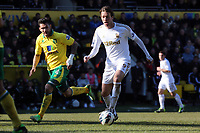 Pictured: Bradley Johnson (L), Michu (R).<br />