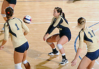 Florida International University women's volleyball player Chanel Araujo (13) plays against Arkansas State University.  FIU won the match 3-2 on October 21, 2011 at Miami, Florida. .