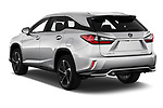 Car pictures of rear three quarter view of 2019 Lexus RX Privilege-Line 5 Door SUV Angular Rear