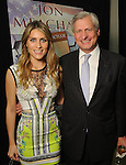 Lizzie Andrews and author Jon Meacham at the VIP Reception for the Celebration of Reading event at the Hobby Center Thursday  April 21,2016(Dave Rossman Photo)