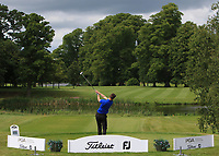 Jamie Carney (Kings Norton GC) on the 1st tee during Round 1 of the Titleist &amp; Footjoy PGA Professional Championship at Luttrellstown Castle Golf &amp; Country Club on Tuesday 13th June 2017.<br /> Photo: Golffile / Thos Caffrey.<br /> <br /> All photo usage must carry mandatory copyright credit     (&copy; Golffile | Thos Caffrey)