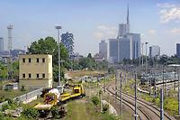 - Milano, lo scalo ferroviario Farini in via di dismissione<br /> <br /> - Milan, the Farini railway yard under disposal