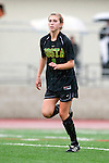 Palos Verdes, CA 01/26/10 - Kendall Richter (MC #8) in action during the Mira Costa vs Palos Verdes Girls Varsity soccer game at Palos Verdes High School.