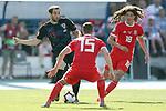 08.06.2019., stadium Gradski vrt, Osijek - UEFA Euro 2020 Qualifying, Group E, Croatia vs. Wales.  Mile Skoric, Ethan Ampadu. <br /> <br /> Foto © nordphoto / Goran Stanzl/PIXSELL