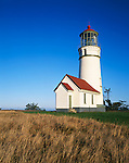 Curry County, OR<br /> Cape Blanco Lighthouse (1870) stands at 59ft, on the western most point of the continental United States
