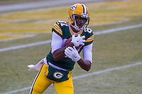 Green Bay Packers wide receiver Geronimo Allison (81) prior to a game against the New York Giants on January 8th, 2017 at Lambeau Field in Green Bay, Wisconsin.  Green Bay defeated New York 38-13. (Brad Krause/Krause Sports Photography)