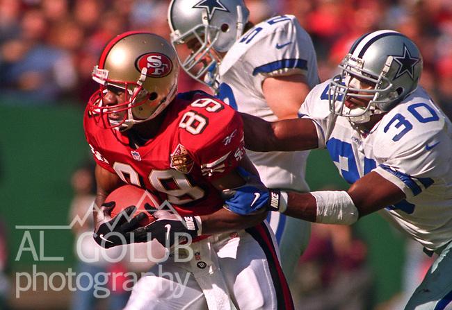 a63fc8fbcac San Francisco 49ers vs. Dallas Cowboys at Candlestick Park Sunday, November  10, 1996