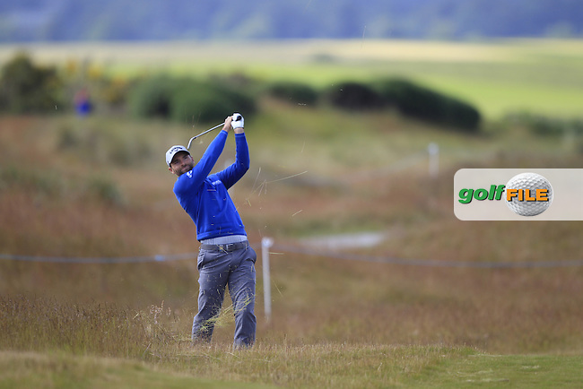 Oliver Wilson (ENG) during the first round of the Aberdeen Asset Management Scottish Open 2016, Castle Stuart  Golf links, Inverness, Scotland. 07/07/2016.<br /> Picture Fran Caffrey / Golffile.ie<br /> <br /> All photo usage must carry mandatory copyright credit (&copy; Golffile | Fran Caffrey)