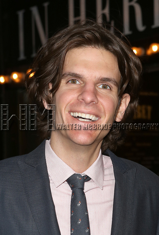 Alex Timbers attending the Broadway Opening Night Performance of 'Cabaret' at Studio 54 on April 24, 2014 in New York City.