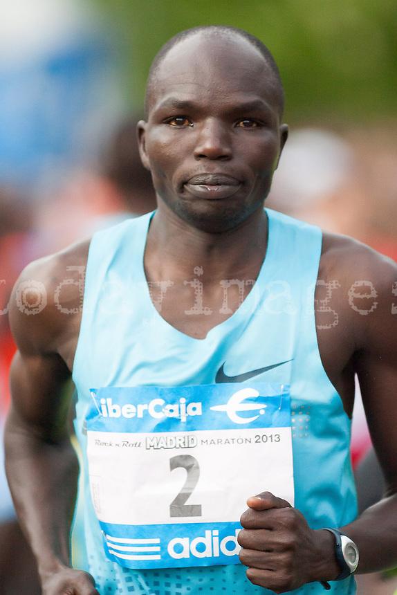 Thomson Cheregony in 2013 Madrid Marathon