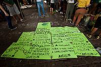 SÃO PAULO, SP - 23.05.2015 - MARCHA-MACONHA - Manifestantes em prol da legalização da maconha realizam ato na Avenida Paulista neste sábado 23. (Foto: Gabriel Soares / Brazil Photo Press)