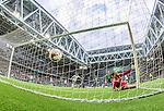 Stockholm 2014-06-18 Fotboll Superettan Hammarby IF - GAIS :  <br /> Hammarbys Marko Mihajlovic reducerar till 1-2 i den f&ouml;rsta halvleken<br /> (Foto: Kenta J&ouml;nsson) Nyckelord:  Superettan Tele2 Arena Hammarby HIF Bajen GAIS jubel gl&auml;dje lycka glad happy