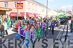 The St Patrick's Day parade in Ballybunion...