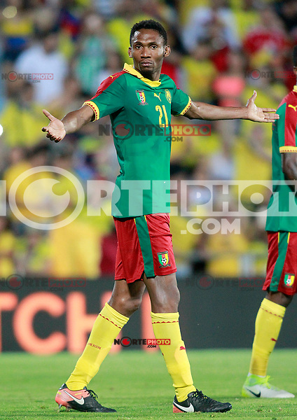 Cameroon's Lucien Owona during international friendly match. June 13,2017.(ALTERPHOTOS/Acero) (NortePhoto.com) (NortePhoto.com)