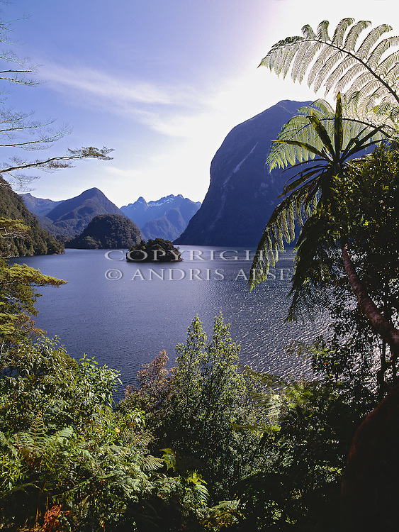Hall Arm of Doubtful; Sound. Fiordland National Park. New Zealand.