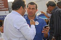ATENÇAO EDITOR  FOTO EMBARGADA PARA VEICULOS INTERNACIONAIS - NITEROI FEZ MARCHA CONTRA O MENSALAO. NITEROI,RJ 25 DE OUTUBRO 2012. Nesta tarde o centro de Niteroi parou com a marcha de simpatizantes do partido do PDT do candidato Felipe Peixoto, contra o mensalao.  A marcha saiu da Camara de Vereadores até a estaçao das Barcas Arariboia se juntando ao comicio do candidato do PDT.<br /> Felipe Peixoto candidato do PDT por Niteroi e Carlos Luppi presidente nacional do partido.<br /> FOTO RONALDO BRANDAO/BRAZIL PHOTO PRESS