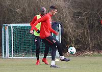 Aymen Barkok (Eintracht Frankfurt) - 06.03.2018: Eintracht Frankfurt Training, Commerzbank Arena