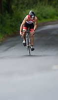 06 JUL 2008 - WAKEFIELD, UK - Mark Livesey - British Age Group Triathlon Championships. (PHOTO (C) NIGEL FARROW)