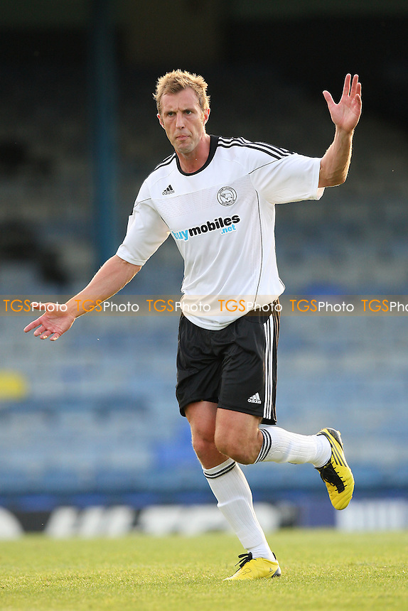Rob Hulse of Derby County - Southend United vs Derby County - Pre-Season Friendly Football Match at Roots Hall, Southend-on-Sea, Essex -  19/07/10 - MANDATORY CREDIT: Gavin Ellis/TGSPHOTO - Self billing applies where appropriate - Tel: 0845 094 6026