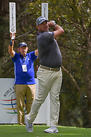 Lee Westwood (GBR) watches his tee shot on 16 during round 3 of the World Golf Championships, Mexico, Club De Golf Chapultepec, Mexico City, Mexico. 2/23/2019.<br /> Picture: Golffile | Ken Murray<br /> <br /> <br /> All photo usage must carry mandatory copyright credit (© Golffile | Ken Murray)