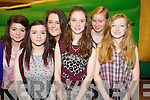 Pictured at the KDYS Youth Day in the INEC, Killarney on Sunday were Eimear Hurley, Lorna Fleming, Mickeala Foley, Rebecca Fisher, Clare O'leary and Aine Kerrisk, Milltown and Keel.