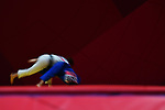 Ambience shot, <br /> SEPTEMBER 1, 2018 - Judo : Mix Team Bronze Medal match at Jakarta Convention Center Plenary Hall during the 2018 Jakarta Palembang Asian Games in Jakarta, Indonesia. <br /> (Photo by MATSUO.K/AFLO SPORT)