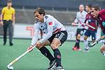 AMSTELVEEN - Boris Burkhardt (Adam)   tijdens de hoofdklasse competitiewedstrijd mannen, Amsterdam-HCKC (1-0).  COPYRIGHT KOEN SUYK