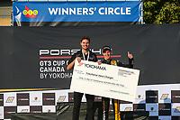 Race 1, Yokohama Hard Charger Award, #3 SCB Racing, Porsche 991 / 2017, GT3CP: Parker Thompson