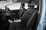 2013 Ford C Max Hybrid SEL Mini MPV Front Seat Stock Photo