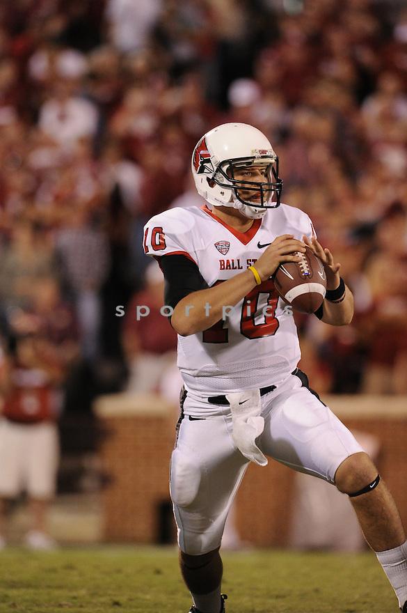 Keith Wenning(10) / Ball State Cardinals
