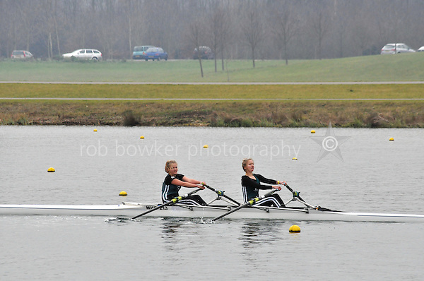 546 Maidenhead RC W.J14A.2x..Marlow Regatta Committee Thames Valley Trial Head. 1900m at Dorney Lake/Eton College Rowing Centre, Dorney, Buckinghamshire. Sunday 29 January 2012. Run over three divisions.