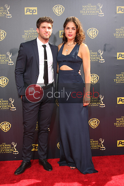 Bryan Craig, Kelly Thiebaud at the 2015 Daytime Emmy Awards at the Warner Brothers Studio Lot on April 26, 2015 in Burbank, CA<br /> <br /> Copyright David Edwards / DailyCeleb.com 818-249-4998