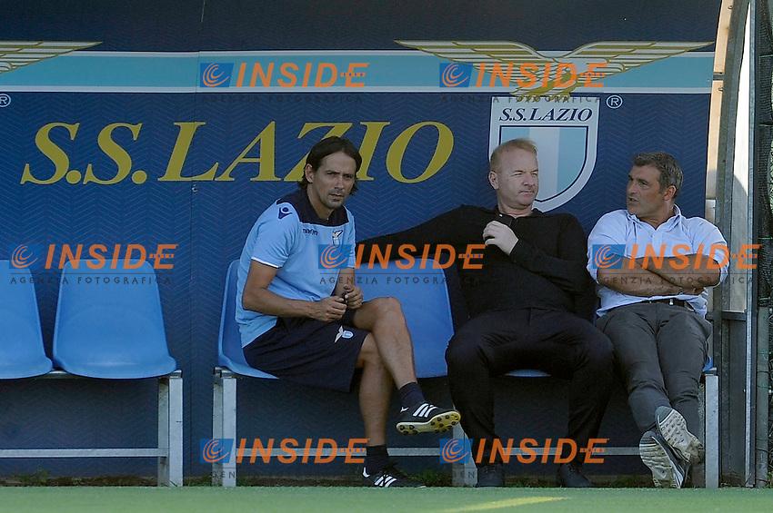 Simone Inzaghi, Igli Tare, Angelo Puruzzi<br /> 28-07-2016 Roma<br /> Allenamento Lazio a Formello<br /> SS Lazio traning day<br /> @ Marco Rosi / Fotonotizia