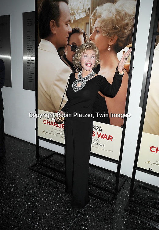 """Joanne Herring, played by Julia Roberts in the movie.at The Special Screening of """"Charlie Wilson's War"""" on December 16, 2007 at The Museum of Modern Art in New York. .Robin Platzer, Twin Images"""
