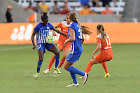 Houston, TX - Sunday Sept. 11, 2016: Eunice Beckmann during a regular season National Women's Soccer League (NWSL) match between the Houston Dash and the Boston Breakers at BBVA Compass Stadium.