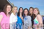 Emma Grimes, Laura O'Connor, Niamh Hoare, Lauren Kelliher, Zoe Hughes and Eilish Shannahan from Listowel and Ballydonaghue at Listowel Races on Sunday.