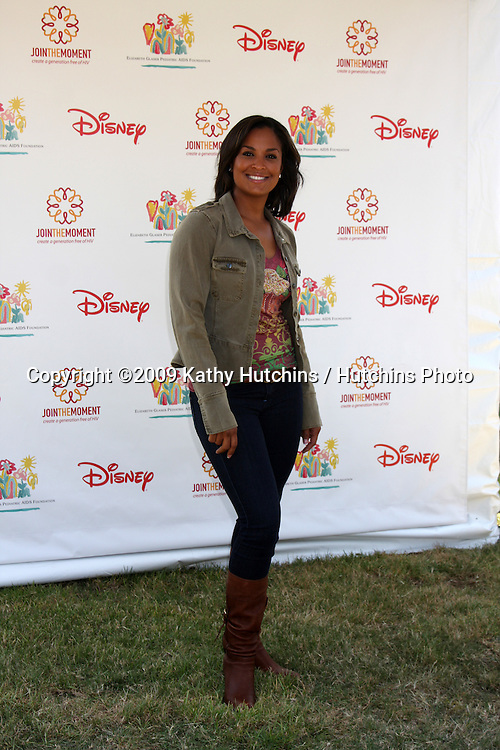 "Laila Ali arriving at the ""A Time For Heroes Celebrity Carnival"" benefiting the Elizabeth Glaser Pediatrics AIDS Foundation at the Wadsworth Theater Grounds in Westwood , CA on June 7, 2009 .©2009 Kathy Hutchins / Hutchins Photo.."