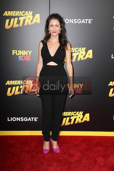 "Courtney J. Clark<br /> at the ""American Ultra"" Los Angeles Premiere, Ace Hotel, Los Angeles, CA 08-18-15<br /> David Edwards/Dailyceleb.com 818-249-4998"
