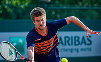 Paris, France, 30 May, 2018, Tennis, French Open, Roland Garros, Men's  Doubles :  Sander Arends (NED) <br /> Photo: Henk Koster/tennisimages.com