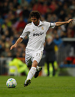 04.03.2012 SPAIN - UEFA Champions League Quarter-Final 2nd  match played between Real Madrid CF vs Apoel FC (5-2) at Santiago Bernabeu stadium. The picture show Esteban Granero (Spanish midfielder of Real Madrid)